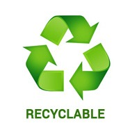 recyclable logo